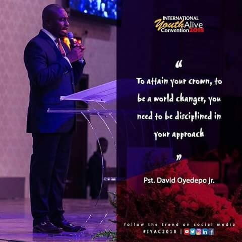 International Youth Alive Convention 2018, living faith
